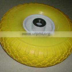 Supplier Assessment by TUV 12 inch pu foam tyres and wheels 4.00-4