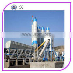 High working efficiency concrete mixing plant
