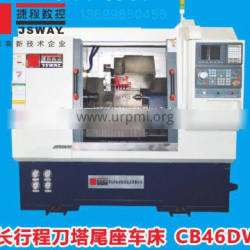 CB46DW/CB56DW 2 axis slant bed turret and tailstock CNC lathe machine
