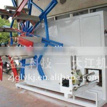 automatic pvc Plastic pipe rolling plant