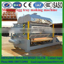 008618037126904 semi-automatic recycling waste paper egg tray machine for sale