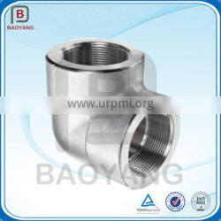Lost wax casting hot dip galvanized 304 steel pipe fitting
