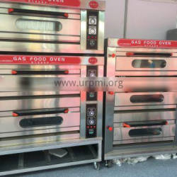 SQ3-9 Three Deck Nine Trays Commercial Gas oven
