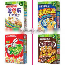 automatic inflating breakfast cereals production process