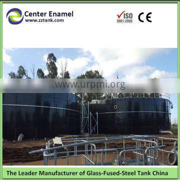 vitreous enamel coated bolted steel silos to store grain