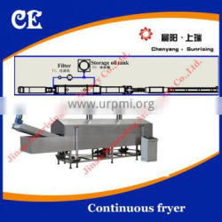 Cheap Price Fully Automatic Snacks Fried Food Production Line