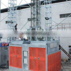 BUILDING CONSTRUCTION HOIST SC100/100 WITH RACK AND MAST