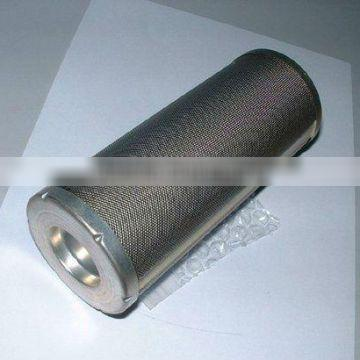 Suction line filter in hydraulic system