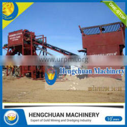 Low Affordable Price Dry Gold Separator /Gravity Separator Machine with Wind Blower Power