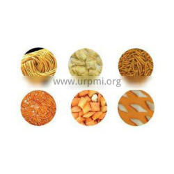 popular fired food/corn chips processing line