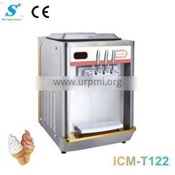 Stainless steel instant soft serve ice cream maker ICM-T122