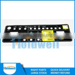 HOLDWELL High Quality Control Panel Decal kits/Overlay 82456GT 82767gt 147575gt 147603gt 82279gt