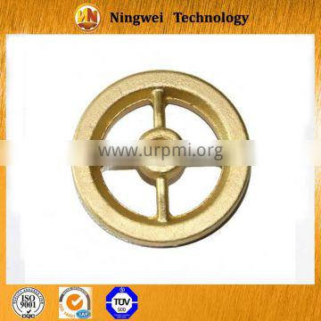 brass forging transmission gear with hot forging processing