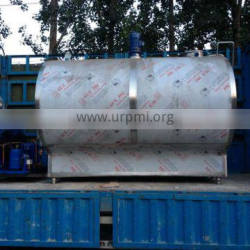 5000L 304 stainless steel material Milk cooling tank