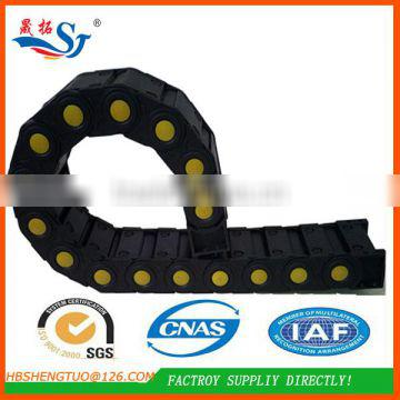 Top Quality Reinforced Conveyor Plastic Bearing Nylon Long Link Chain for Cable