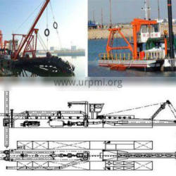 Sand Pumping Extraction Ship