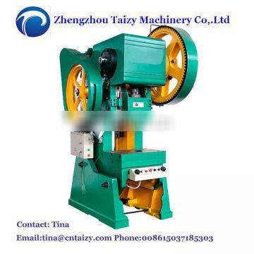 Series Mechanical Power Press, 10 Ton can operated punching machine Punch Press