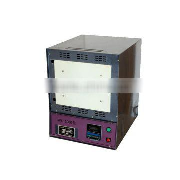 Wholesale Electric Muffle Furnace 120*200*300mm small Industrial machine up to 1200 C