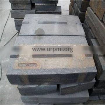 High chrome Impact crusher spare parts for metso nordberg NP1110 blow bar casting