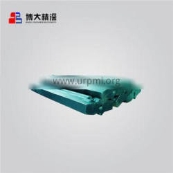 Ceramic insert martensitic impact crusher casting spare parts blow bar fit for metso