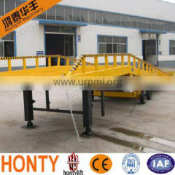 10 ton hydraulic container loading dock ramp lift for container