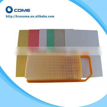 China supplier wood pulp automotive oil filter paper