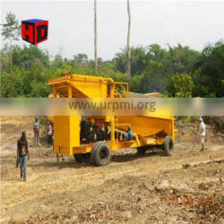Gold Washing Plant Mobile Trommel Rotary Drum Screen