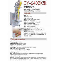 CY-240 BK Automatic Pillow Sealing Granule Packing Machine