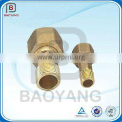 China OEM Brass Small CNC Machining Parts For Water Meter