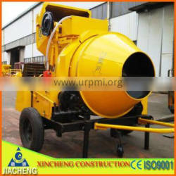 steel wire rope paddle type JZR350 concrete mixing machinery