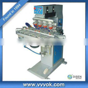 Four color automatic pad printing machine