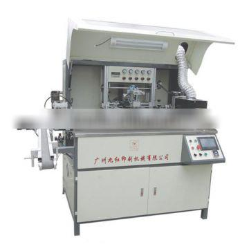 automatic one color flat screen bottle printing machine for glass