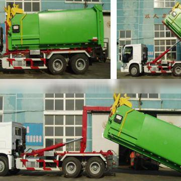 Sinotruk HOWO 6x4 Hook lift truck for garbage