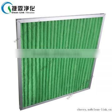 2015 NEW manufacturer washable air filter pleated filter
