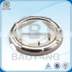 china aluminum and steel oem stamping parts