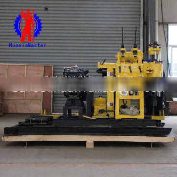 High Power Cheap HZ-200YY hydraulic core drilling rig exploration borehole drilling rig
