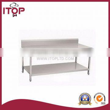 industrial kitchen table stainless steel workbench