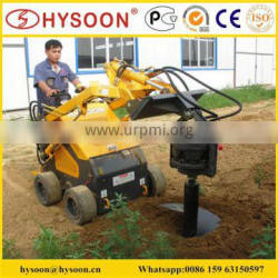 Multifunction Chinese Hysoon skid steer loader for sale