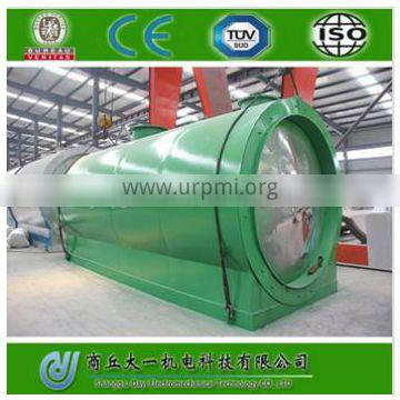 DAYI High Quality Waste Engine Oil Distillation Equipment New Used Oil Distillation Plant with CE