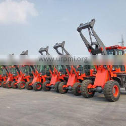 CE approved 1wheel loader 1000kg with low price hot sale 1ton wheel loader in European market