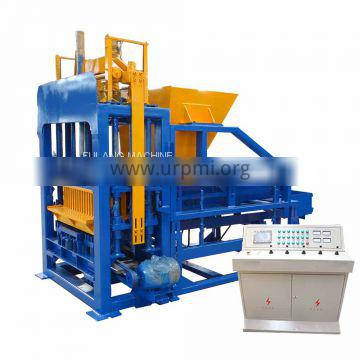fully automatic concrete cement fly ash hollow solid building brick block road paver making machinery