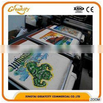 Printing Machine With Three Die Cutting Station,With Sheet Conveyor