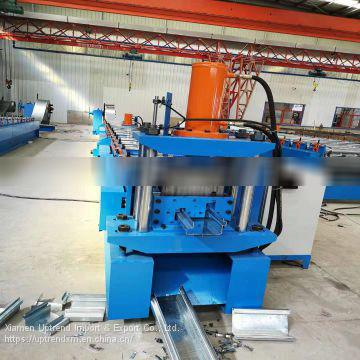 Container house steel botton beam roll forming machine