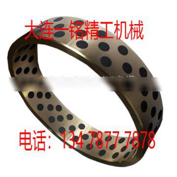 Dalian graphite copper sleeve Misami oil-free bushing oil-containing self-lubricating bearing wear-resistant injection molding machine mold guide sleeve.