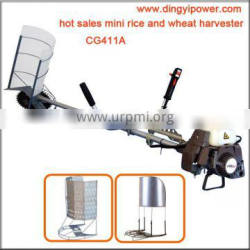 agriculture heavy duty 2 stroke 40.2cc mini rice and wheat harvester