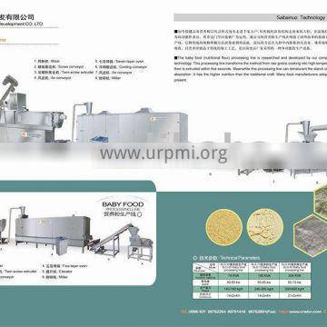 modified starch and nutritional flour processing line/machine/machinery