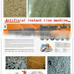 2014 New technology automatic puffed Nutritional Instant Rice machine/processing line