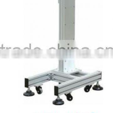 90 flying marking lift stand with profile base beam path can rotate