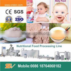 Automatic stainless steel baby food processing full line