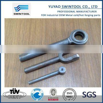 Metal droped forging part-clevis hook eye blot jaw for turnbuckle DIN 1478 and 1480